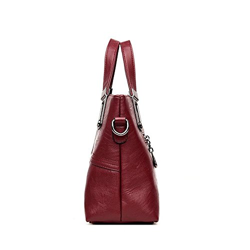 Pack Oblique lap Quality Bag Single Lady Hundred Cross Handbag Hongge Fashion A Square Fabric Shoulder PU xg66n7