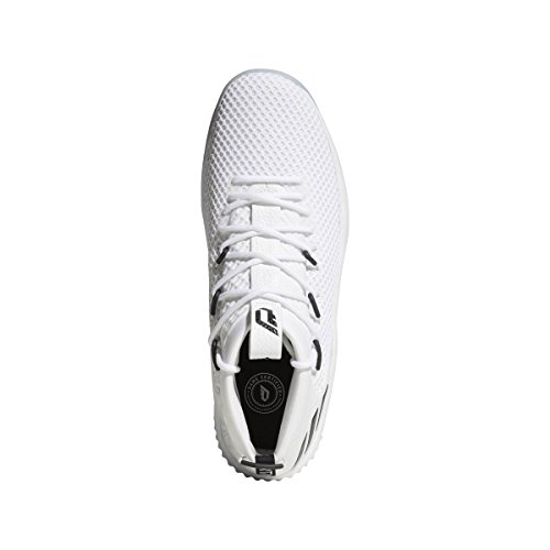 adidas Men's Dame 4 Basketball Shoes White/Black cheap order outlet buy really sale online xNfYVfEJ