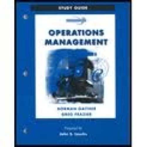Study Guide to accompany Operations Management with OM Software and Microsoft Project 2000 CD-ROM