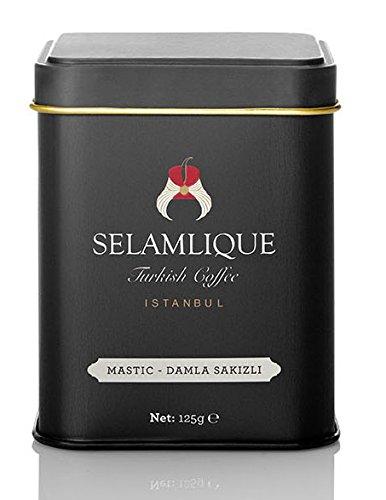 (Selamlique's Mastic Flavoured Turkish coffee 125gr.(4.40oz))
