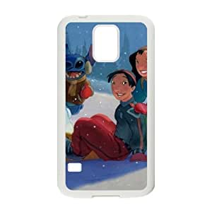 Lilo and Stitch 2 Stich Has a Glitch Samsung Galaxy S5 Cell Phone Case White O2449312