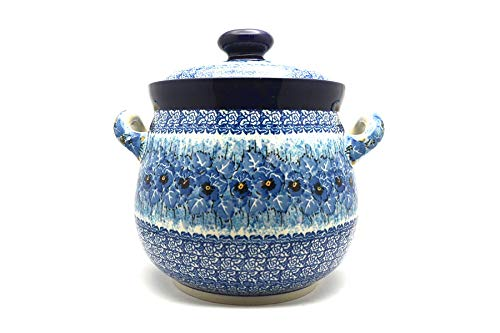 Polish Pottery Cookie Jar - 14 cups - Unikat Signature - U3639