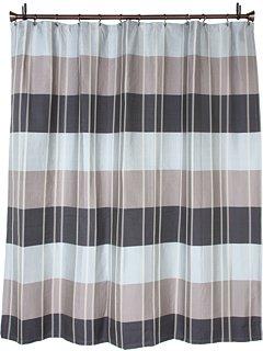 Croscill Fairfax Shower Curtain, 72 by 72-Inch, Slate