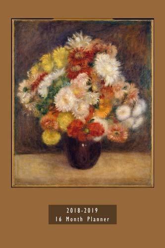 Renoir's Bouquet of Chrysanthemums 16-Mo Planner Organizer 6