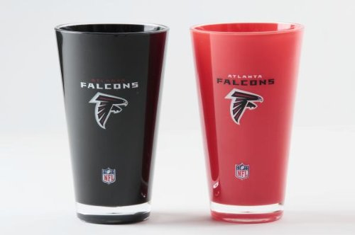 Atlanta Falcons Official NFL 20 fl. oz. Tumbler Cup Set by Duck House