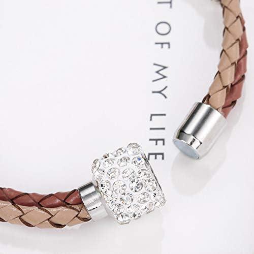 huahua Personalidad Mujeres Pulsera Tendencia Personalidad Cien-Hit joyería Coloreada a Mano Piedras Preciosas joyería incrustada en Diamantes