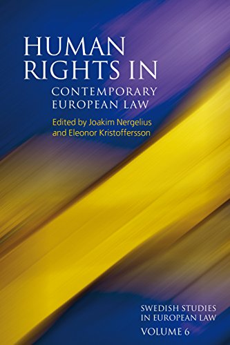 Human Rights In Contemporary European Law (Swedish Studies In European Law)