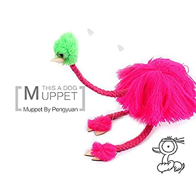 GWOKWAI 5Pcs String Puppet, Funny Plush Doll Ostrich Marionette Educational Toy for Kids Toddlers Birthday Gift : Baby