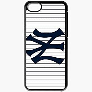 Personalized Case For Iphone 6 Plus (5.5 Inch) Cover Cell phone Skin 15143 New York Yankees by elmoye Black
