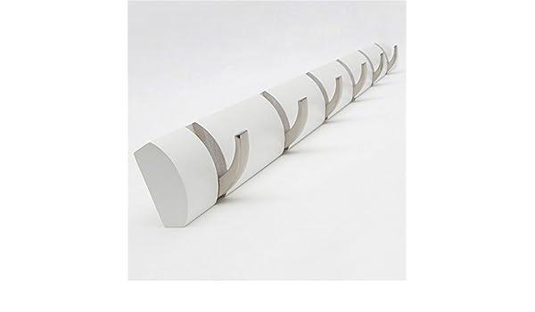 Ganchos para colgar Bamboo Wall Mount Coat Estante flotante Heavy-duty Flip-Design Hangers Ropa decorativa / Sombrero / Bolsa / Toalla / Llave / Ganchos ...