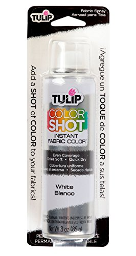 (Tulip ColorShot Instant Fabric Color 3oz. White)