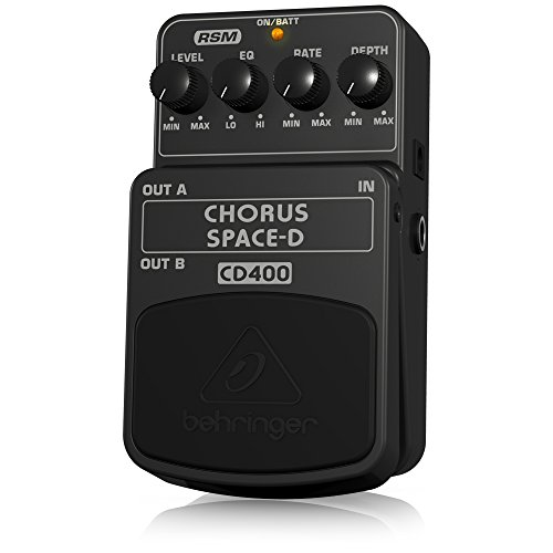 Behringer CD400 Chorus Space-D Digital 3-Dimensional Sound Effects Pedal by Behringer