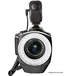 Samsung NX1 Dual Macro LED Ring Light / Flash (Includes Necessary Adapters/Rings For Mounting On All Samsung Lenses)