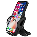 CD Slot Phone Mount Holder for Car CD Player Phone Mount Compatible with iPhone Xs MAX XR X 8 7 6 Plus 11 Pro Galaxy S10 S9 S8 S7 S6 Note9 Google Pixel LG Nexus Other Android Phones