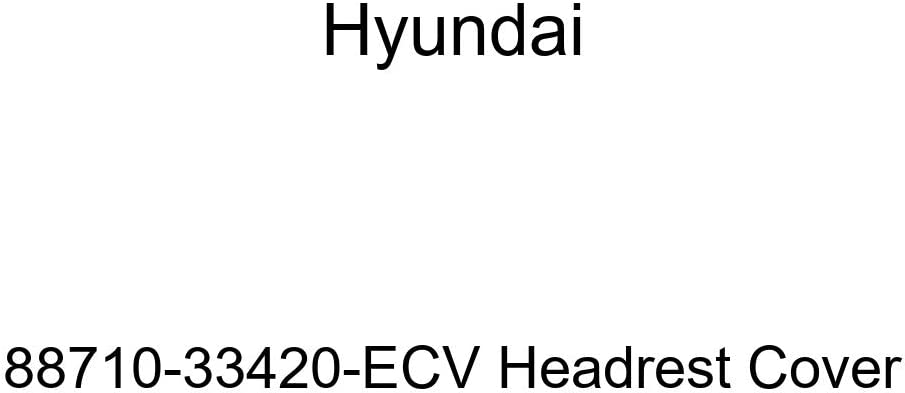 Genuine Hyundai 88710-33420-ECV Headrest Cover