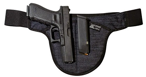 LARGE - DTOM Denim Possum Pouch Crotch Carry Holster by Don't Tread on Me Conceal and Carry Holsters