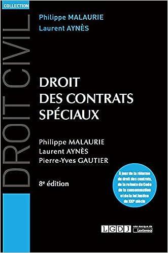 En ligne Droit des contrats spéciaux pdf, epub