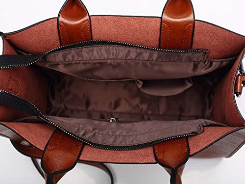 pour femme Xixik Sac taille bandoulière unique marron qFwEtw