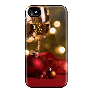 Design New Year's Toast Hard Case Cover For Iphone 4/4s BY icecream design