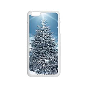 Christmas winter tree Phone Case for Iphone 6