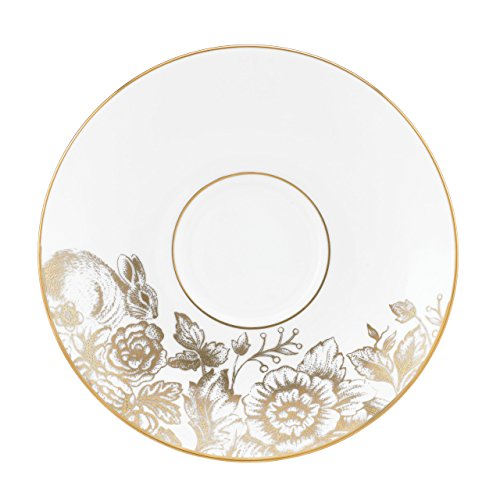 Lenox Marchesa Gilded Forest Tea Saucer, White -  29249