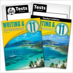 Writing and Grammar 11 Subject Kit, Student, Teacher, test, key