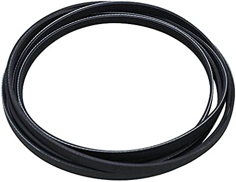 Exact Fit for Whirlpool Maytag Jenn-Air International Dryers Y312959, WPY312959 Replaces 314774 WPY312959VP PS11757542 Dryer Drum Belt Replacement Part by Blue Stars Ultra Durable 312959
