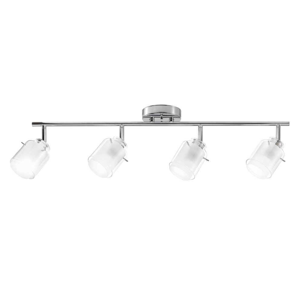 Globe Electric 59267 Track Light, 0, Polished Chrome