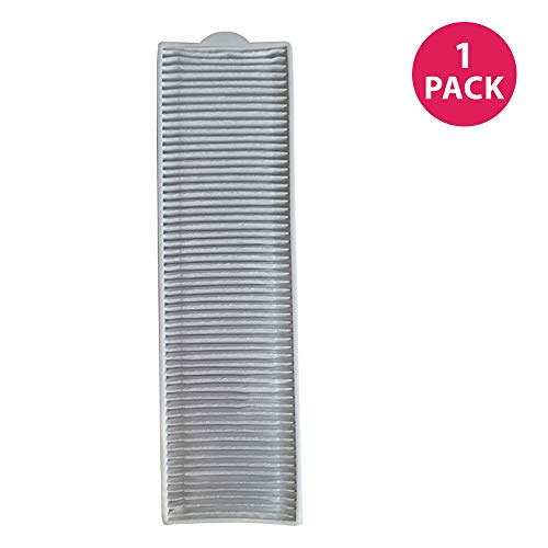Crucial Vacuum Replacement Filter Parts Compatible with Bissell Filter 8 14, Part 3091 2038093 203-6608 470856 FX HVF090 - HEPA Style, Fits Vacs Momentum Velocity Bagless Upright, Bulk (1 Pack)