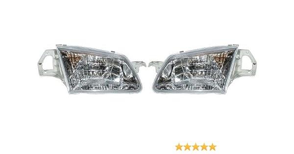 2000 Mazda Protege Headlight Diagram