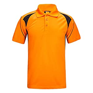 ZITY Teens Polo Shirt Cool Quick-Dry Sweat-Wicking Short Sleeve Sports T-Shirt