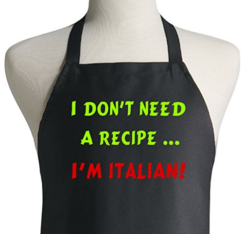 Dont Need Recipe Italian Aprons product image