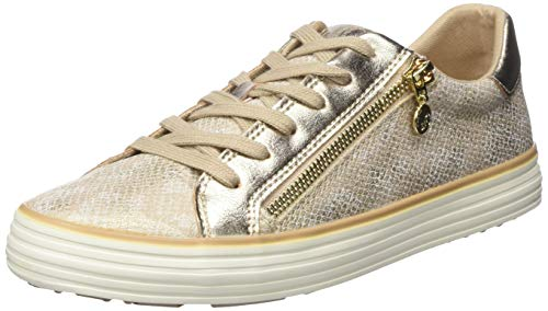 Snake Zapatillas champagne oliver 5 S 22 408 Mujer 23615 408 5 Para Beige xfwWP6Cq