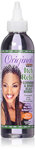 Africa's Best Itch Relief Cornrow and Braid Scalp Remedy, 6 Fluid Ounce