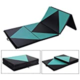 Doitpower Thick Fold Gymnastic Mat with Handles and Zipper Home Exercise Equipment Gymnastic Equipment