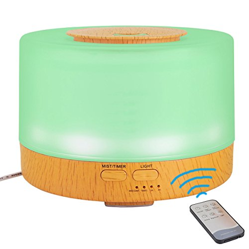 2017-hooroor-Premium-Aroma-Essential-Oil-Diffuser-Portable-Ultrasonic-Diffusers-with-Color-LED-Lights-Changing-and-Waterless-Auto-Shut-off-Function-for-Home-Office-Bedroom-Room-500-mL