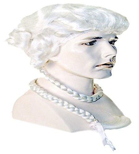 Ichabod Crane Costume - Ichabod Crane Colonial Dandy Wig