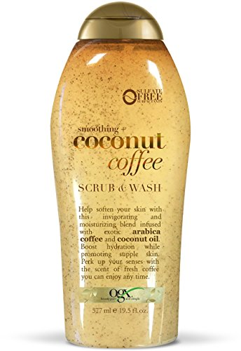 Ogx Coconut Coffee Body Wash - 19.5oz, 19.5 Oz