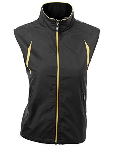 Xpril 2-Tone All Weather Proof Vest Black Size L by Xpril (Image #5)