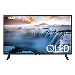 SAMSUNG QN32Q50RAFXZA Flat 32″ QLED 4K 32Q50 Series Smart TV