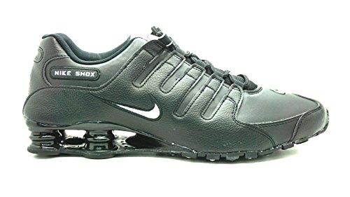 Nike Men's Shox NZ Running Shoe Black/White/Black - 13 D(M) US