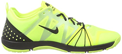 NikeFree Cross Compete - zapatillas deportivas Mujer Amarillo - Gelb (Volt/Black)