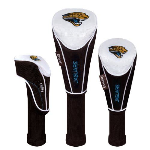 Jacksonville Jaguars Set of 3 Headcovers