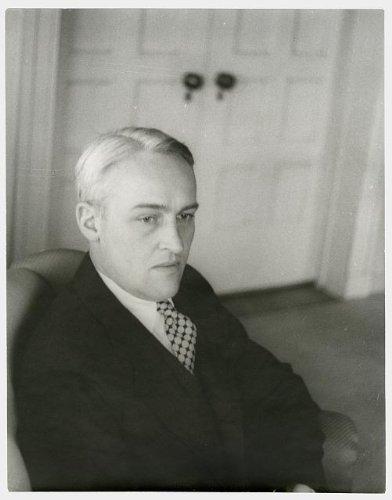 Photo: Portrait of Van Vechten Shaffer, Cedar Rapids, Iowa 1 . Size: 8x10 (approximately)