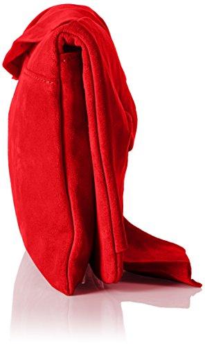 Taschen Mujer Rojo Carteras kirsche Schmenger Mano Kennel Und De YavEE6