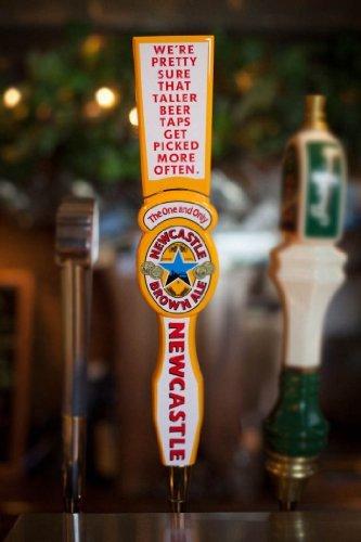 newcastle beer tap handle - 4