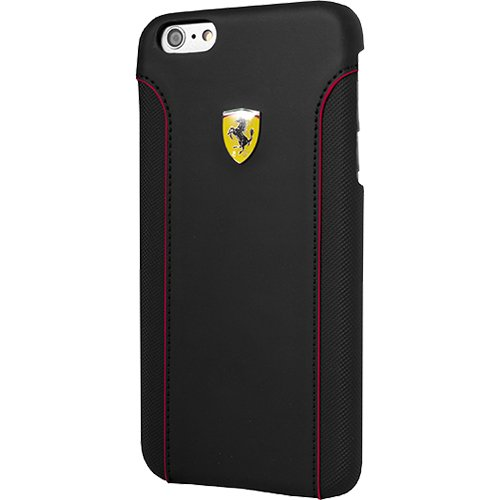 Ferrari Fiorano Hard Case for iPhone 6 Plus/6S Plus - Black
