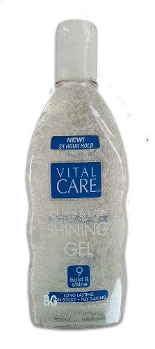 Vital Care Volume & Luster cheveux brillants Gel Super Hold All Day Non collant ... mtc