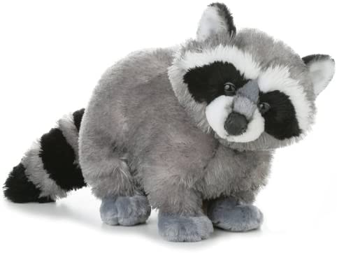 Aurora World Flopsie Bandit Plush Racoon, 12