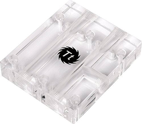 Thermaltake Pacific VGA Bridge Triple (3-Slot) Transparent PMMA G1/4 Thread Cooling CL-W136-PL00TR-A